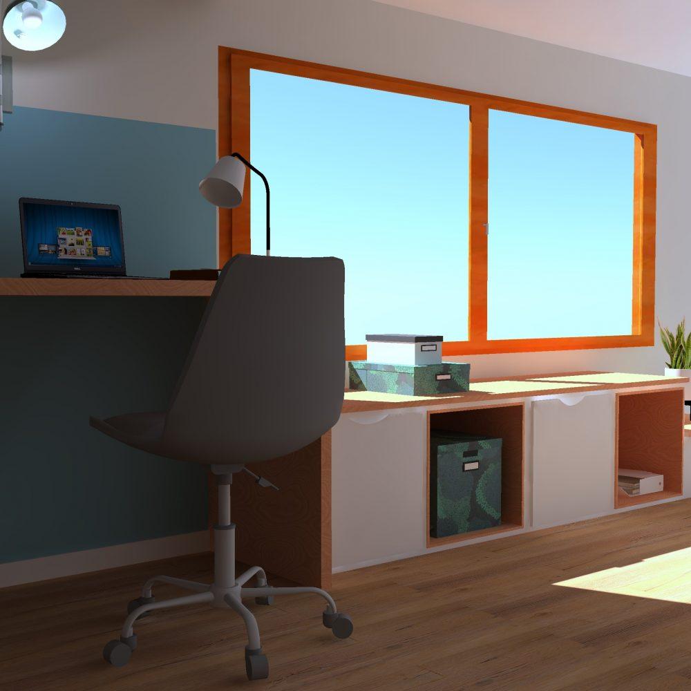 Modélisation 3d vendée décoratrice intérieur