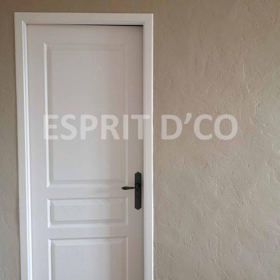 Rénovation hall entrée peinture artisanat vendée
