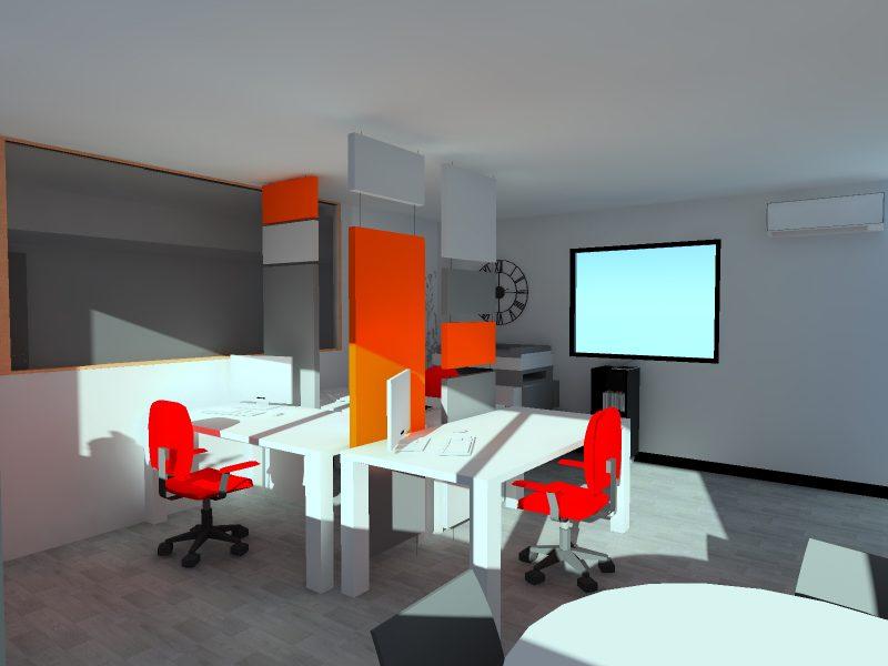 Air Panel séparateur - Modélisation 3D