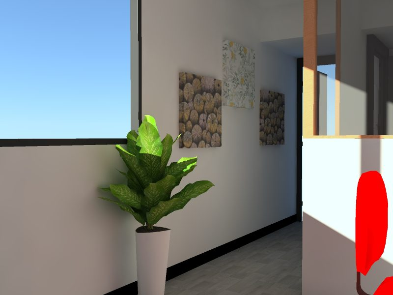 Air Panel impression - Modélisation 3D